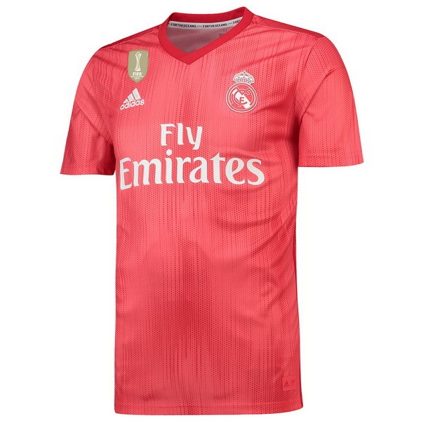 Camiseta Real Madrid Replica Tercera 2018-19 Rojo