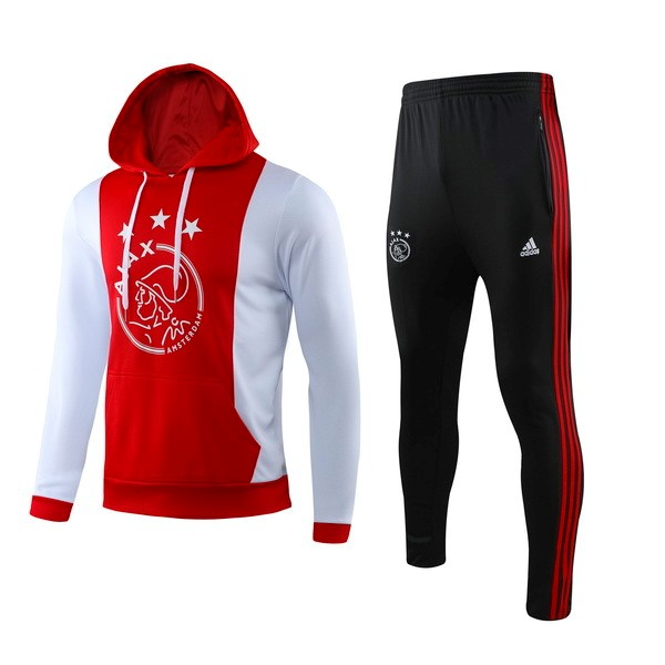 Chandal Ajax 2019-20 Rojo Blanco