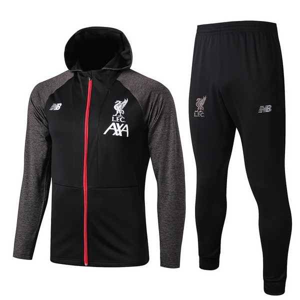 Chandal Liverpool 2019-20 Negro Rojo Gris