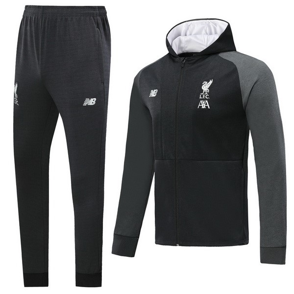 Chandal Liverpool 2019-20 Negro Blanco Gris