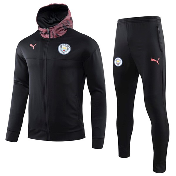 Chandal Manchester City 2019-20 Rosa Negro