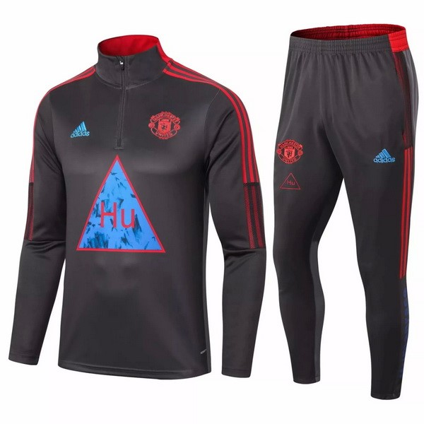Chandal Manchester United 2020-21 Negro Azul