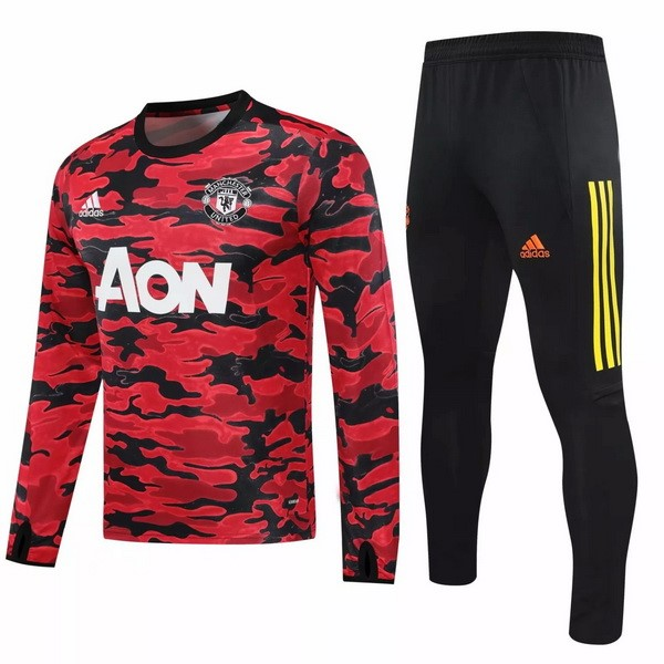 Chandal Manchester United 2020-21 II Rojo Negro