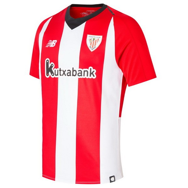Camiseta Athletic Bilbao Replica Primera 2018-19 Rojo Blanco