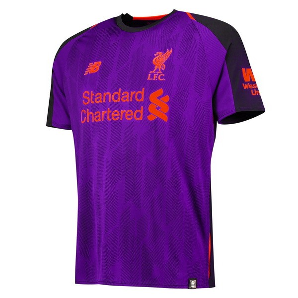 Camiseta Liverpool Replica Segunda 2018-19 Purpura