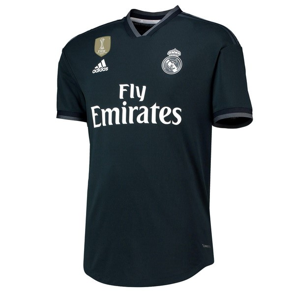 Camiseta Real Madrid Replica Segunda 2018-19 Negro
